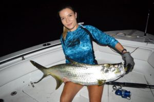Nice tarpon on the IRT500DD . •