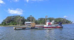Laguna Madre remote fish camp. Hundreds of miles without electricity or infrastr