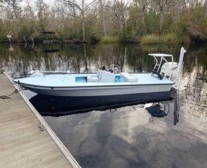 @sea_prince_fishing East Cape skiff floating in Yulee, Florida!