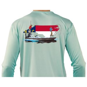 Rep YOUR state on our BEST quality fishing shirt.