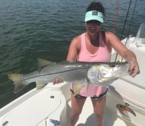 One of many nice snook yesterday!