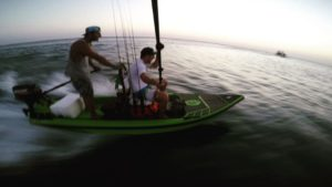 Racing the Sun Home . . H:Skiff The Ultimate Skiff!!!
