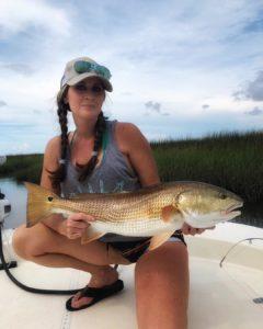 Laura Redfish River Hunting