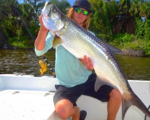 Double down on a clutch tarpon