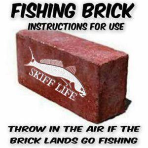 Life is short, throw the brick. Throw it often. …
