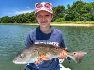 Beautiful 21″ Redfish!