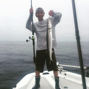 No problem getting over hump day fishing for cudas!! With