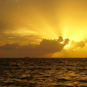 Intense sunset!