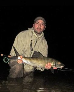Night time bonefishing.