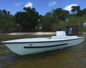 Fish the uncharted flats with the remarkably shallow draft of a Hell's Bay Skiff