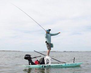 getting that birds eye view sight fishing