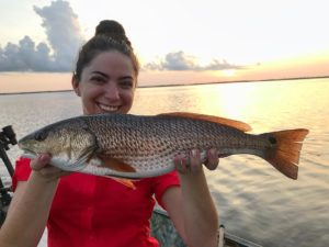 Redfish on the first cast, then slam by 7:30.