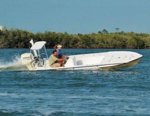 @bossmanboats Tail Spotter ridin' the rails!