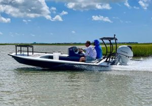 @sabineskiffs using their skiff for everything it's made for!