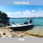 """Turnkey Skiff for sale!  2015 14'6"""" SkimmerSkiff w/ center console,2015 Suzuki 2"""