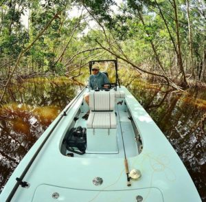@wildflycharters flying fishing on the Beavertail Mosquito out in the Everglades…