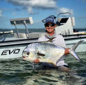 You should need a permit to catch permit this big!!  @captbryson with @captnickl…