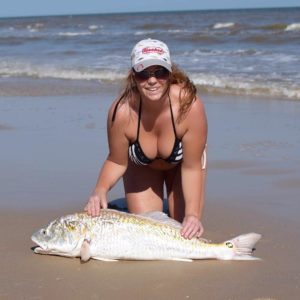 Best Birthday gift for  40 inch bull red second largest red she's caught