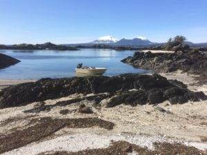 Your own private beach. In Alaska the unwritten etiquette says that if there's a