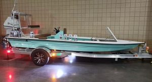 @bigfranksoutdoors gorgeous Skimmer Skiff ready to go!  DM / tag us in your pics…