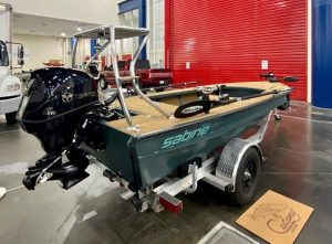 The @sabineskiffs River Skiff getting debuted, what do you guys think about the …