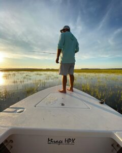 Fun day on the water…  1st, put  on a redfish… then hit the flood tide with