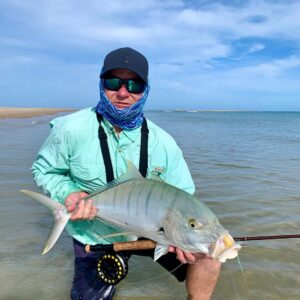 Golden Trevally you gotta luv them, the starter species for flats fishing downun