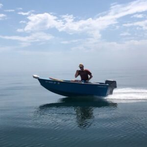 """It's a """"Hawkins 10.5 performance surf craft"""". Designed and built originally by G"""