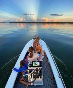 @saltyperspectives nothing will top a morning on the water with the whole family…